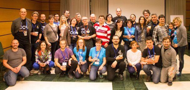 Casi todos los CCV que tuvimos participación en la organización y desarrollo del congreso ACCE 2015.